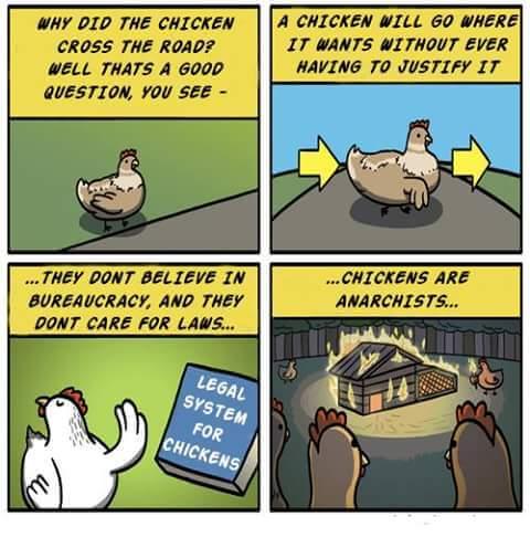 anarchist chicken